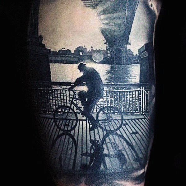 grey-tattoo-with-amazing-shadow-effect-realism-tattoo-male-arms